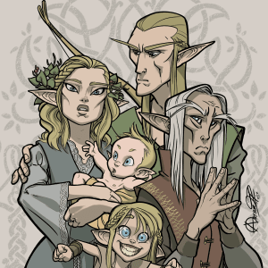 Elves At Different Ages