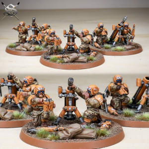 Imperial Guard Mortar Team