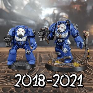 2018 vs 2021 Painting