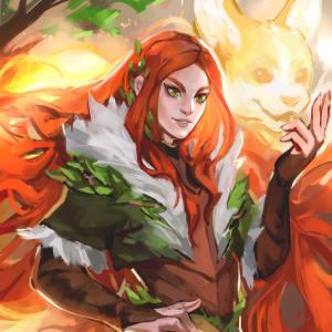 Faen, Wildfire Druid