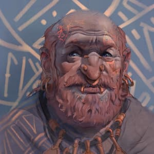 Dwarf Character Illustration