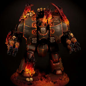 Legion of the Damned Leviathan Dreadnought