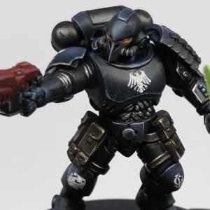 Custom Raven Guard Blackhawk