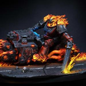 Legio Damnatorum Fleshtearer Outrider