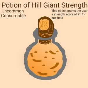 Potion of Hill Giant Strength