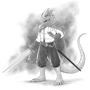Koviell, the Kobold Rogue