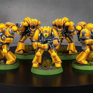 Old School Imperial Fists