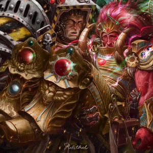 Magnus the Red and Perturabo