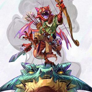 Sesto the Kobold Drakewarden Ranger