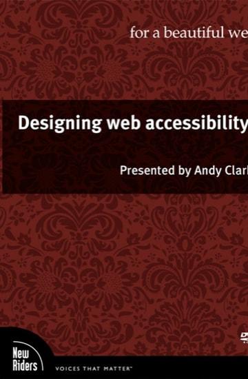 Designing web accessibility
