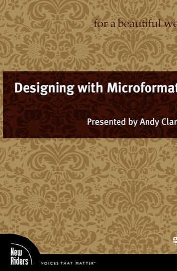 Designing with microformats