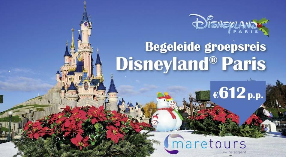 Begeleide groepsreis Disneyland Parijs