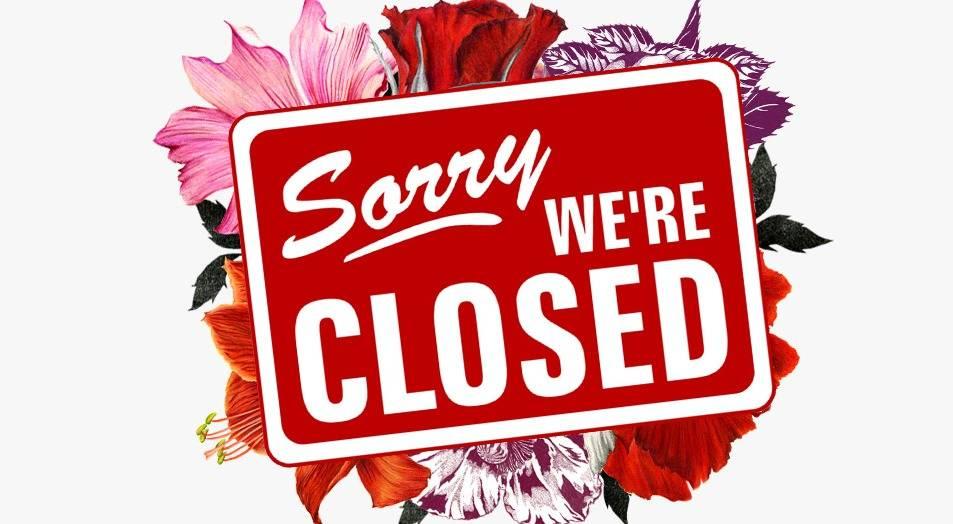 Op 21 juli zijn wij gesloten!
