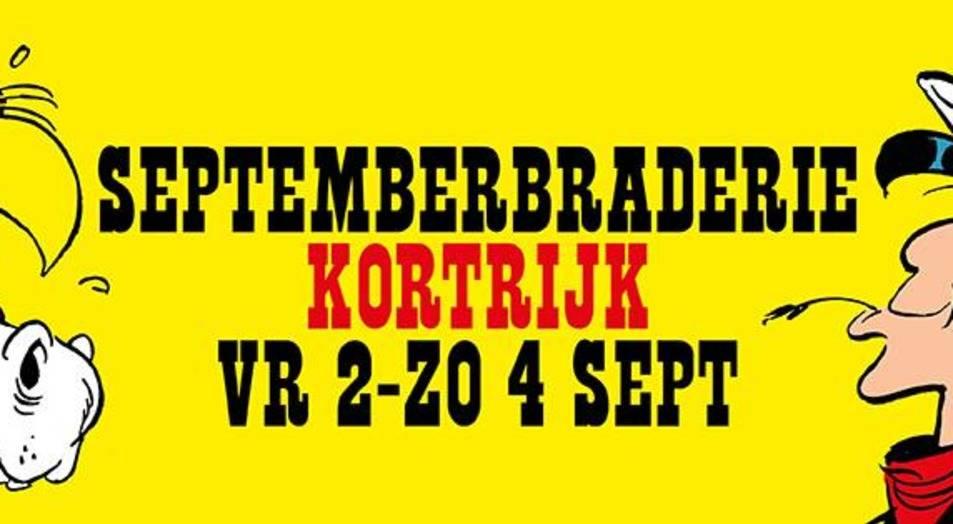 Septemberbraderie Kortrijk