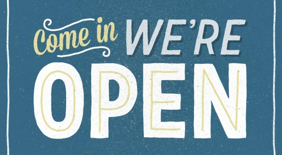 Open op zondag!