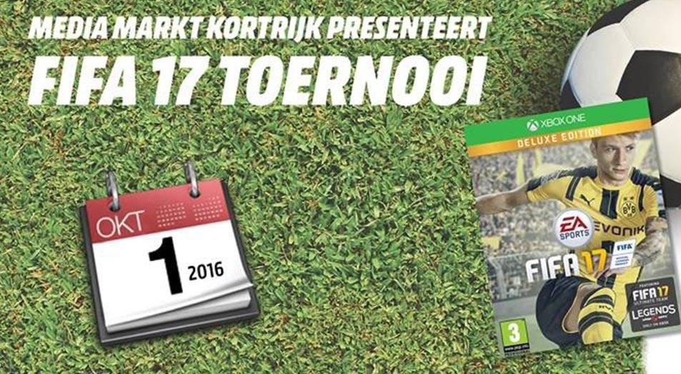 FIFA 17 Toernooi Media Markt