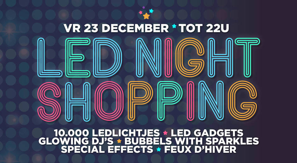 Led night shopping