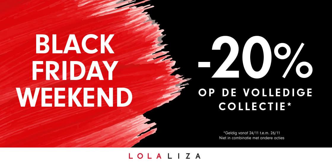 Black Friday bij Lola&Liza