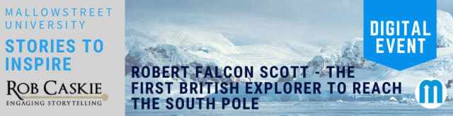 Stories to Inspire: Robert Falcon Scott - The First British Explorer to Reach the South Pole