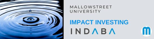 mallowstreet Impact Investing Indaba