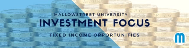 mallowstreet University Investment Focus: Fixed Income Opportunities