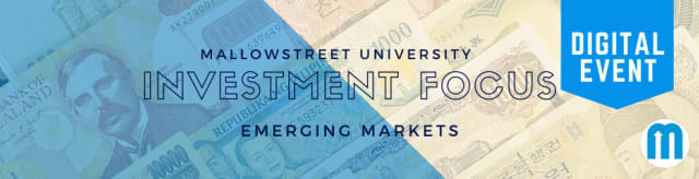 mallowstreet University Investment Focus: Emerging Markets
