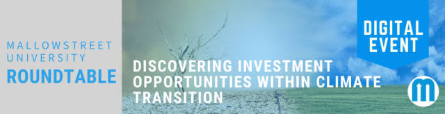 mallowstreet University Digital Roundtable: Discovering Investment Opportunities within Climate Transition
