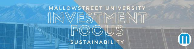 Sustainability Investment Focus
