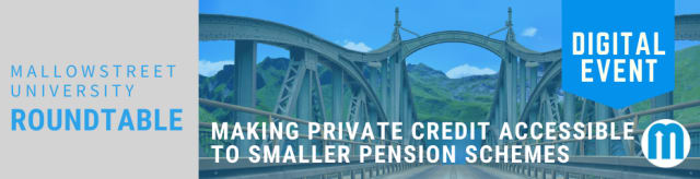 mallowstreet University Digital Roundtable: Making Private Credit Accessible to Smaller Pension Schemes
