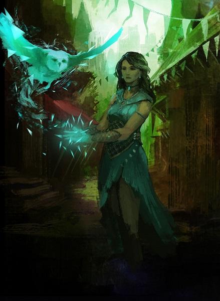 Magic Female Core Card