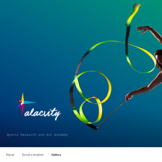 Alacrity.org.in website
