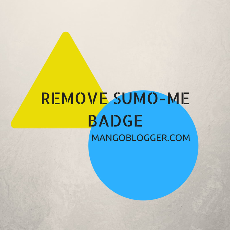 Remove SumoMe Blue Badge