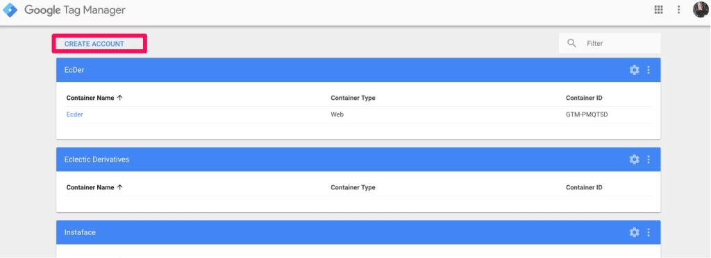 mangoblogger install google tag manager