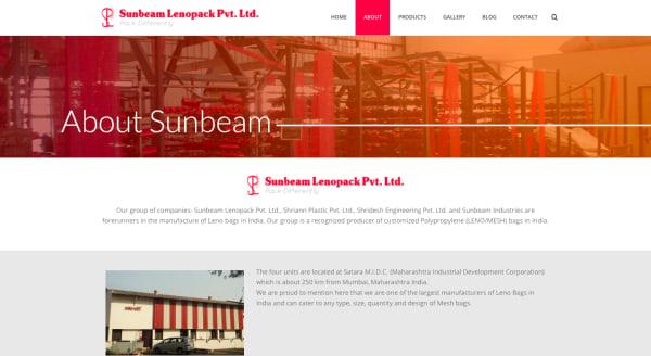 Sunbeam Lenopack