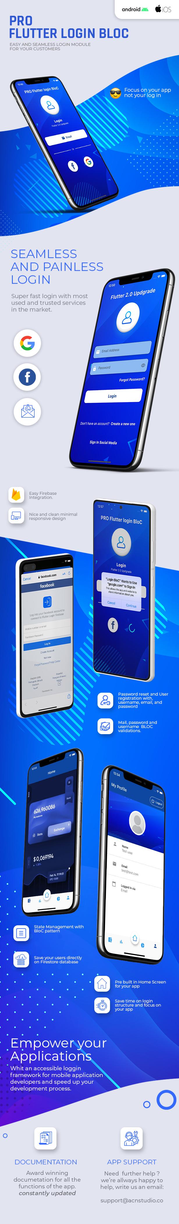 PRO Flutter Login Full App - 1