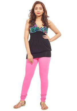 Manini LightPink Cotton Premium Leggings