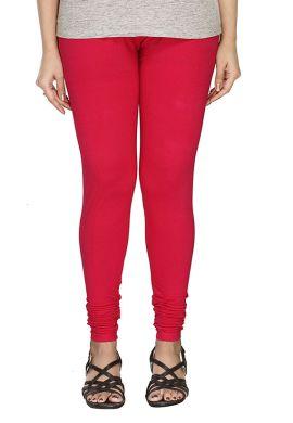 Manini Red Cotton Leggings