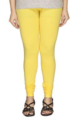 Manini Yellow Cotton Leggings