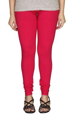 Manini Deep Pink Cotton Leggings