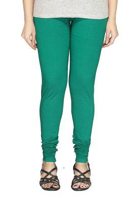Manini Green Cotton Leggings