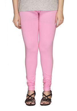 Manini Light Pink Cotton Leggings