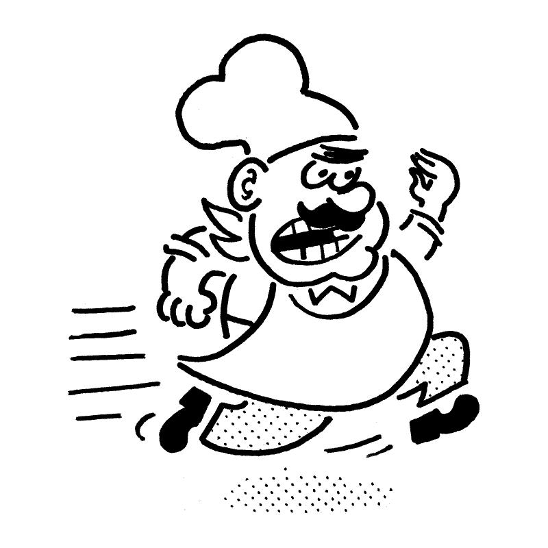 chef character illustration