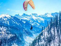 Paragliding at Dalhousie