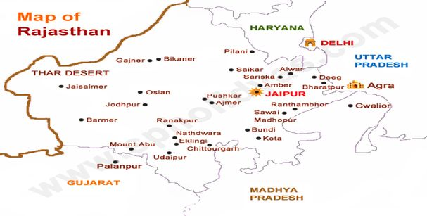 map of rajasthan_alt