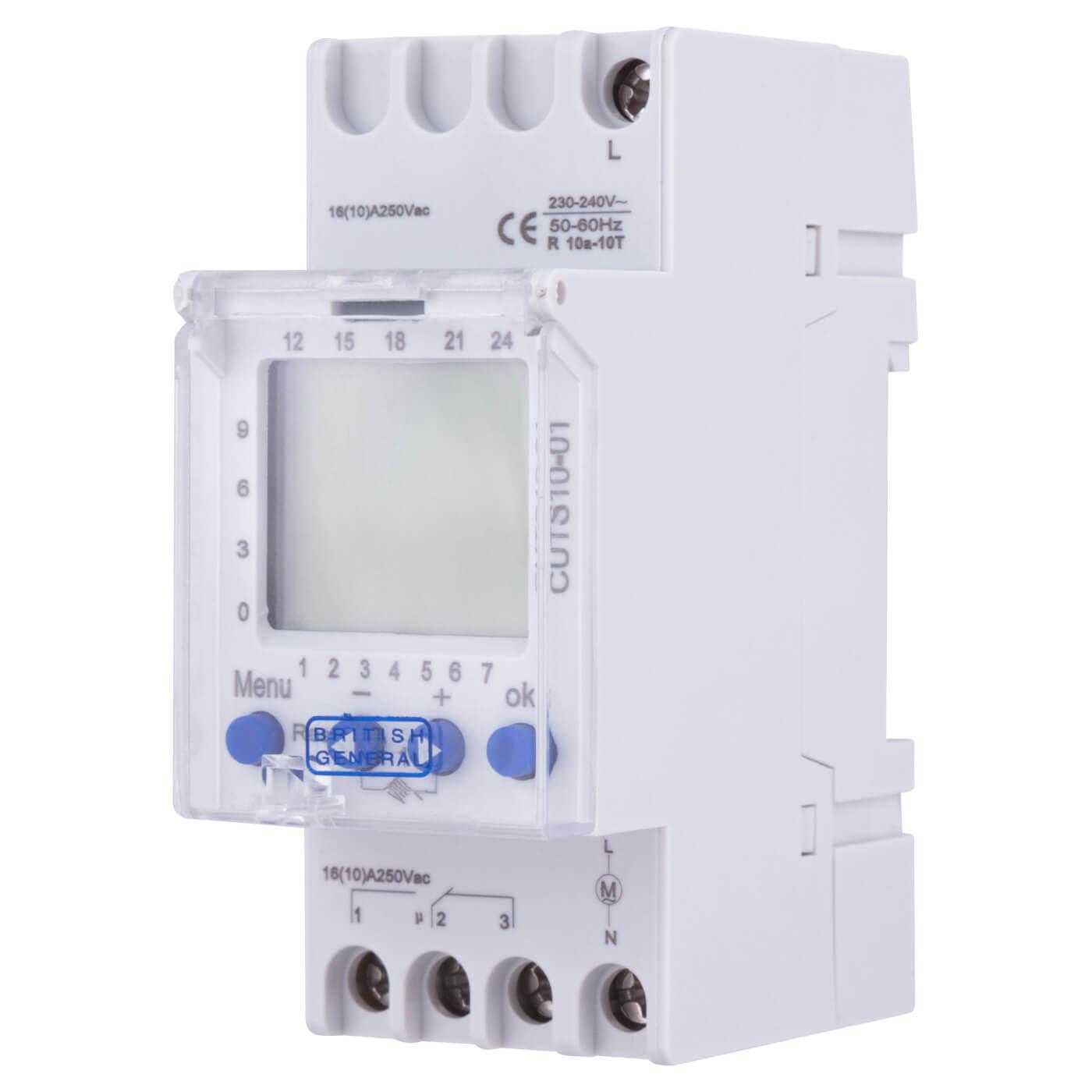 BG Digital Single Channel Timer Consumer Unit Module)