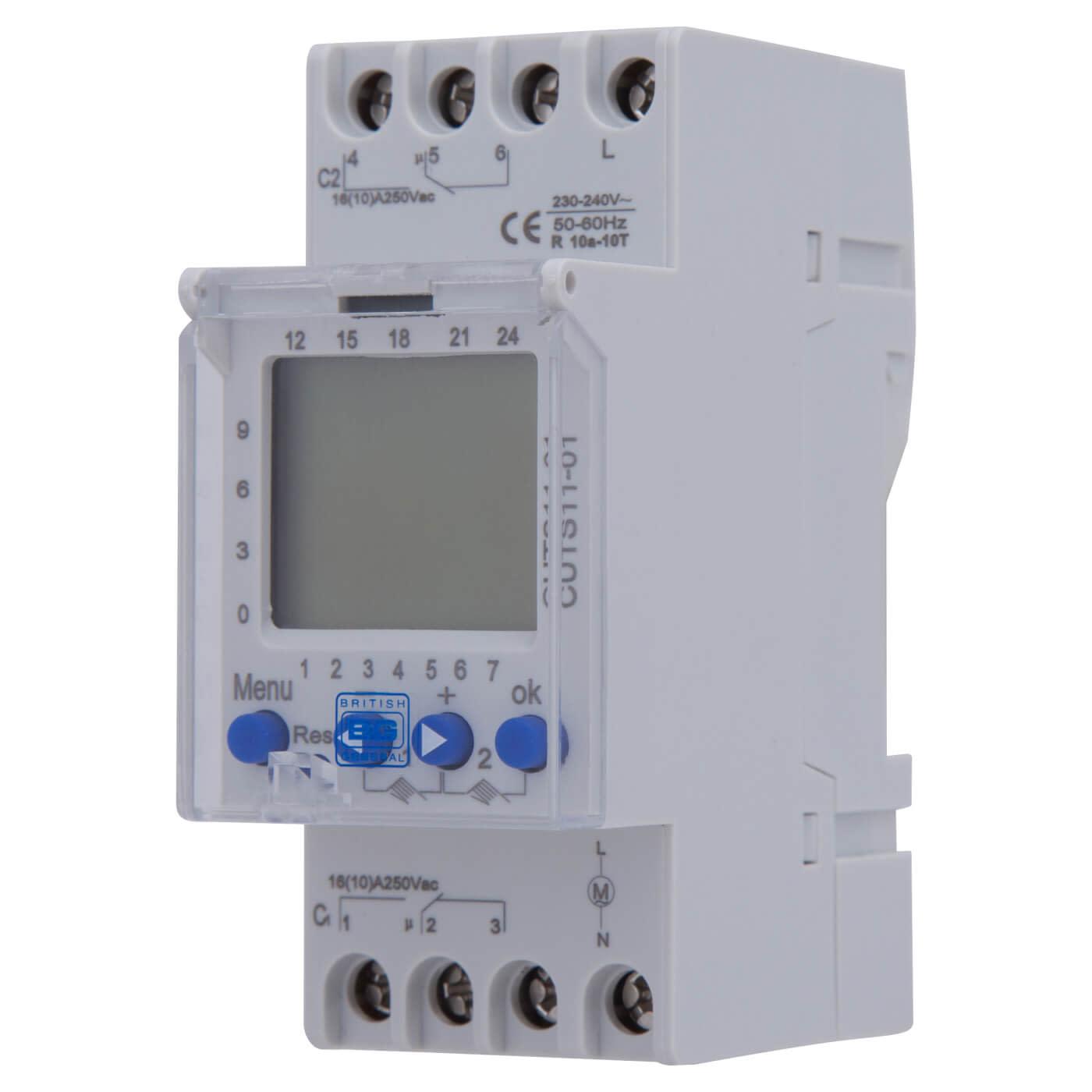 BG Digital 2-Channel Timer Consumer Unit Module)