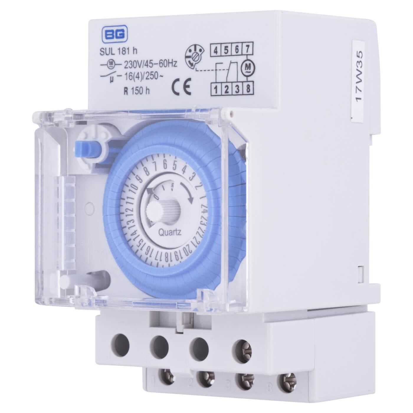 BG Analogue 24hr Timer Consumer Unit Module)