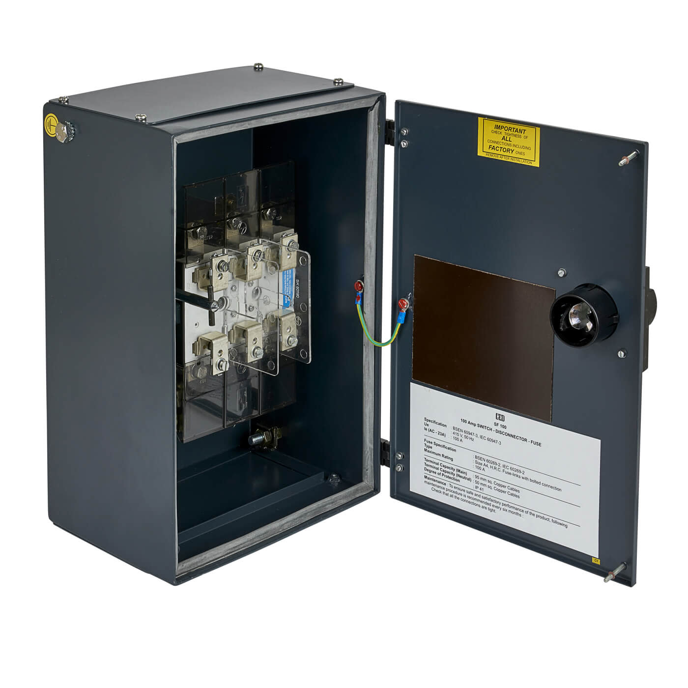 CED 100A 3 Phase Switch Fuse)
