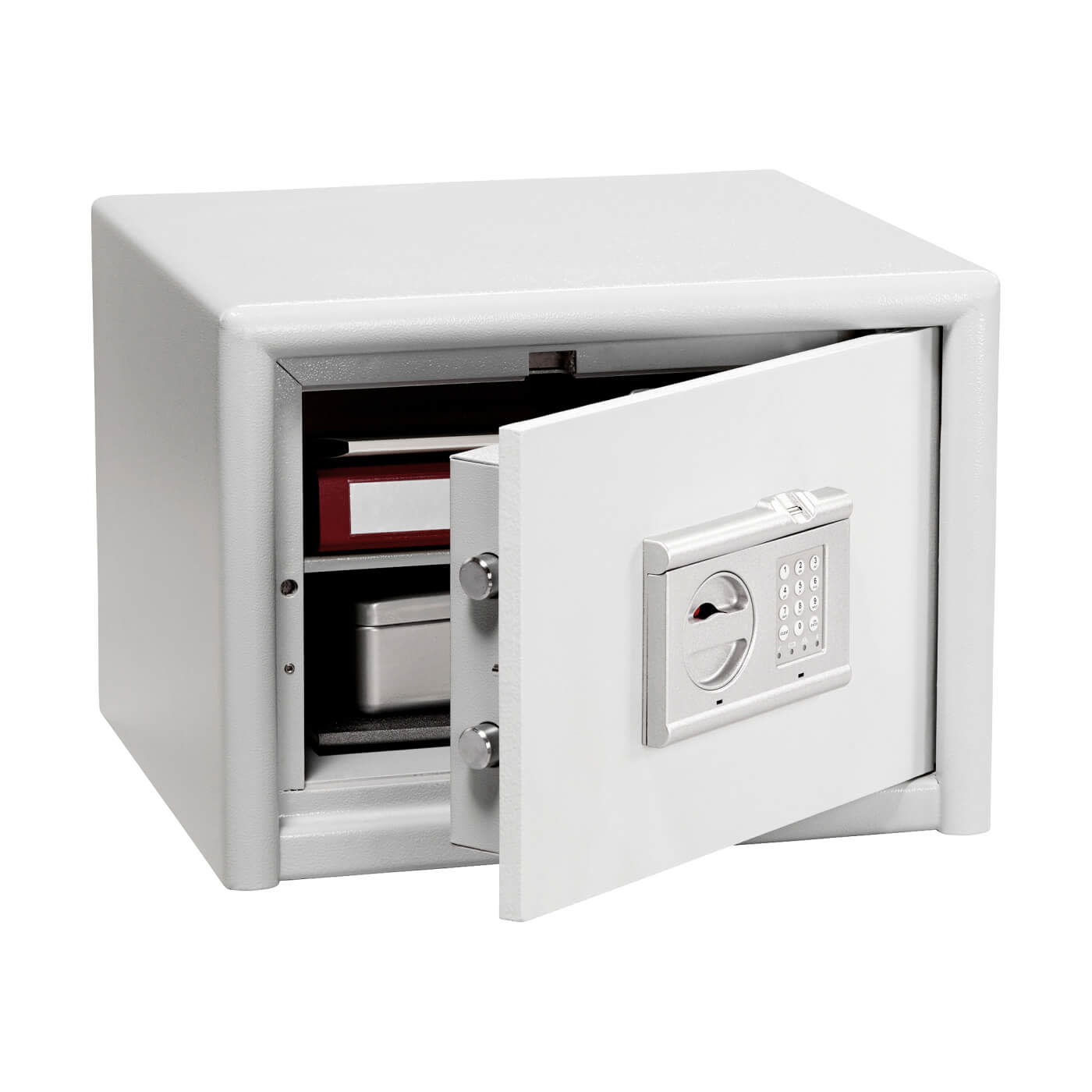 Burg Wächter CL 20 E FS Combi-Line Electronic Biometric Fire Safe - 360 x 495 x 445mm - Light Grey)