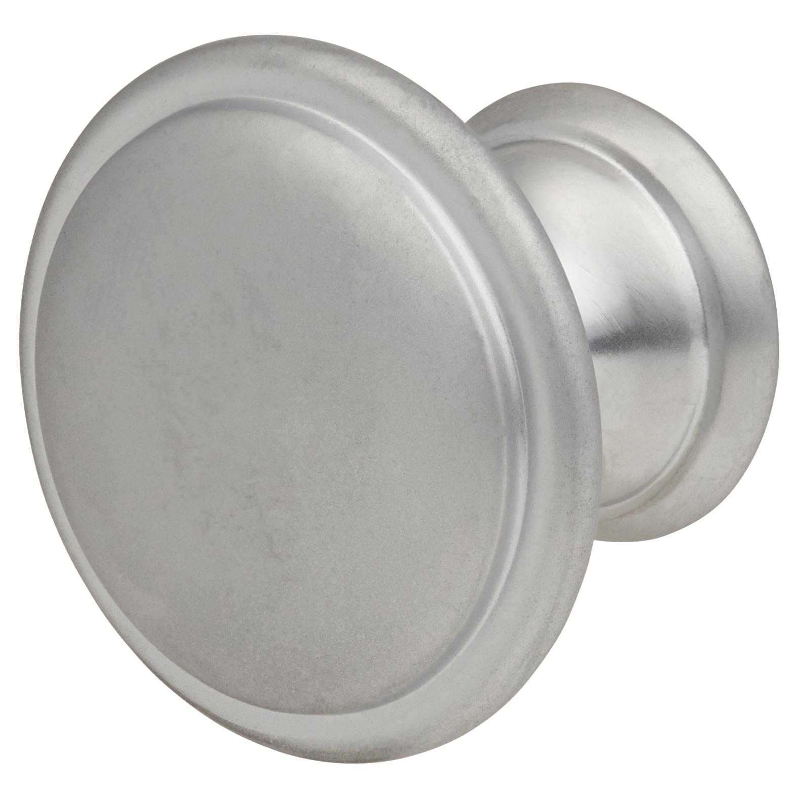 Touchpoint Rim Cabinet Knob - 30mm - Matt Chrome)